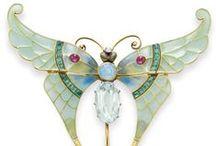 Fine Art Nouveau Jewelry / My favorite Art Nouveau era jewelry and designer collections.