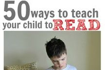 LITERACY FUN & TIPS FOR PARENTS / Games, ideas, and books to help lay the foundation for future readers.