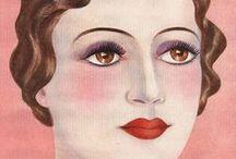 Make-up through the decades..
