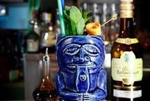 Customized Tiki Mugs / Creating and developing special Tiki Mugs and Bowls for Baba Au Rum, Cocktail Bar, Athens.