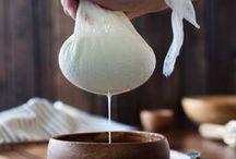 Butter, yogurt, cheese, milks / Recetas, fotografía e ideas para mantequilla, yogurt, queso y leches vegetales caseros. Butter, yogurt, cheese & milks recipes, ideas, photography and styling