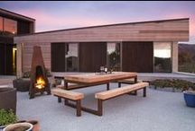 Stylish Outdoor Fires / Create mood and atmosphere for your outdoor space with stunning Outdoor Fires that provide warmth and light so you can enjoy outdoor living long into the night. Buy more stylish outdoor fires at http://www.wanakastainless.co.nz/outdoor-furniture.html