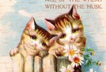 Decoupage,Cute,animal,vintage,pic,french