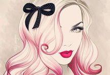 Models,dresses,accessoare,decoupage,transfer,image,vintage,collage,label,clipart