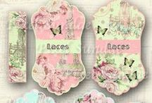 Clipart,decoupage,transfer,image,vintage,french,collage,label,clipart