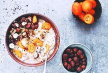 Breakfast / Recetas, fotografía e ideas para desayunos Breakfast recipes, ideas, photography and styling