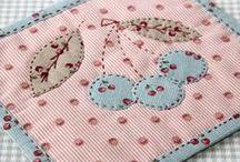 Place mat and Mug rug