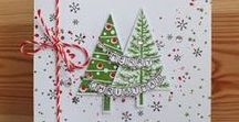 cards - Christmas trees