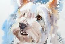 art - animal portraits