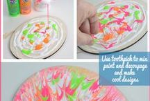 crafts for kids - paint
