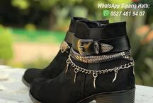 Kış Geldi Sana Çok Yakışacak Tarzını Seç! / Ayakkabı ve Ayakkabı