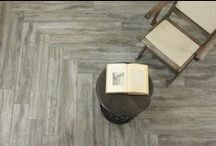 Wood Look Tile / A collection of porcelain wood look tiles.