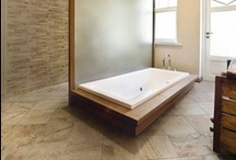 Modern Slate Look Tile / The look of stone with the care free maintenance of Porcelain Tile.