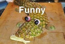 Funny child food