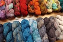 Our yarns / Some of the many yarns you'll find at the Hillsborough Yarn Shop.