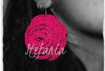 Earings / crochet earings