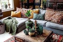 Home / My dream home is filled with oddities, witchy wibes, candles and relaxed bohemian feeling. Oriental, antique and gothic influences with the shades of purple and deep red.