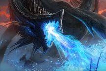 dragones / mitologia griega