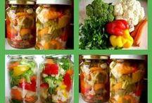 przetwory z warzyw i owoców