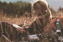 """Wanderlust. / """"Buscar conhecer o mundo para entender a si mesmo, e conhecer a si mesmo para melhor entender o mundo... Em suma, """"Wanderlust"""" significa a viagem que cada um deseja fazer de algum modo, talvez em uma busca através de si mesmo, começando com o primeiro passo ao longo de uma extensa jornada."""""""
