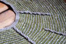 DK weight / Inspiring stitches in DK weight yarn.