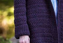 Bulky and super-bulky weight / Inspiring stitches in bulky and super-bulky weight yarns.