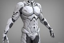 armaduras futuristas