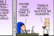 If My Life Were A Cartoon / Some of the best Dilbert Cartoons of the year / by Sandi Varvel