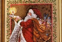 Cross- Santa