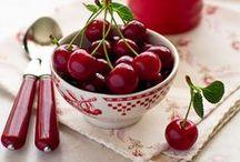 Cherries ✤ Berries ✤ Fruits / by Norma Bonnett  ✿~ ղb