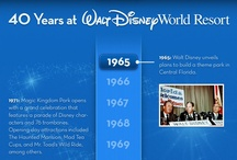 Vintage Disney / Great pieces of history about Disney throughout the years