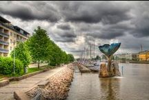 Finland - Turku / Turku is oldest city in Finland....and the former capital until 1809 / by Child of nature