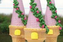kinderfeestje prinsessenfeest - party princes / Maak van je kinderfeestje ene prinsessenfeest. Op dit bord vind je inspiratie om in een handomdraai een prinsessenfeestje te vieren.