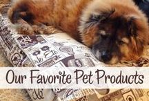 product picks / must-have stuff for fido + kitteh