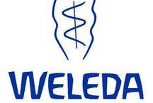 Weleda / Weleda é uma empresa multinacional que produz tanto produtos de beleza e medicamentos naturopatas .  Ambos os ramos conceber os seus produtos com base em antroposóficos princípios. A empresa tem o seu  nome a partir da forma alemã do nome do primeiro século Bructeri völva Veleda .