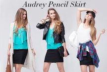 The Audrey Collection / Classically comfortable is always a good idea.