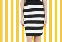 Statement Stripes / Show-stopping stripes strut in for Spring.