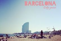 Barcelona, city guide and pictures / Bonnes adresses et photos de Barcelone