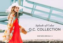 O.C. Collection / Gear up for your Summer getaway.