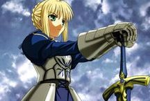 Fate Zero/Fate State Night / Saber from Fate Zero and Fate State  Night