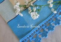Crochet  ending, borders & trimming