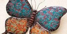 Butterflies and Drangoflies
