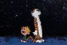 Frases de Calvin / Calvin e Haroldo é uma série de tiras criada por Bill Watterson e publicada em mais de dois mil jornais do mundo inteiro. Calvin é um garoto de seis anos de idade cheio de personalidade. / by Mensagens com Amor