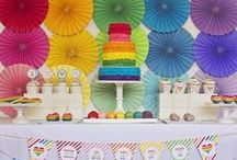 Rainbow Party Ideas / by Partystock