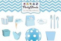 It's A Boy!  Baby Shower Ideas / Baby shower ideas and party supplies to help you welcome your baby boy! / by Partystock