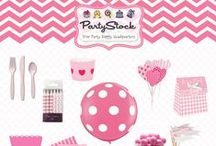 It's A Girl! Baby Shower Ideas / Baby shower ideas and party supplies to help you welcome your baby boy! / by Partystock