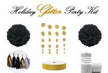 Black and Gold Party Ideas / by Partystock