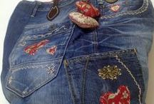 Jeans Re- und Upcycling