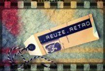 Reuze retro / webshop reuze retro  handmade recycled crafts  Www.reuzeretro.nl