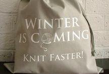 Knitting and patterns / Lapasia ja kuvioita